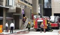 إجلاء ألف شخص jقريبا من فندق في سنغافورة بعد انفجارات وحريق دون وقوع إصابات