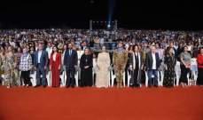 رنده عاصي بري افتتحت مهرجانات صور والجنوب الدولية