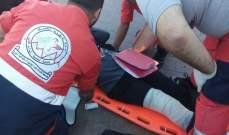 النشرة: جريحة في حادث صدم بالقرب من ساحة النجمة وسط مدينة صيدا