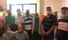عسكريو التيار المتعاقدون قدموا مساعدات عينية لعائلات عسكريين محتاجين