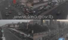 التحكم المروري: حركة مرور كثيفة عند أوتوستراد الضبية بسبب حادث تصادم