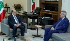 سلامة التقى الرئيس عون: الوضع المالي مستقر ونترقب الإصلاحات والموازنة