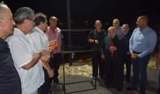 بو جودة افتتح باحة القديس يوحنا بولس الثاني في بزيزا الكورة