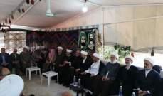 المفتي قبلان تفقد بعض قرى بعلبك الهرمل ورعى مصالحات