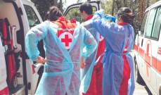 الصليب الأحمر: نقلنا 42 مصابا بكورونا لمستشفى بيروت و8 أطفال لمركز حجر