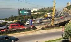 قطع طريق جونية بالإتجاهين والجيش يعمل على فتحها