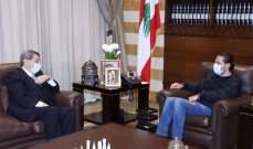 الفرزلي من بيت الوسط: الحريري ملتزم بروحية الدستور ولن يحيد عنها