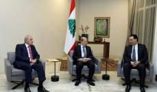 مصادر الشرق الاوسط: الرئيس عون وبري طلبا من دياب التروي في التشكيل