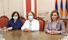 أوهانيان التقت اللجان النيابية بأرمينيا: نعمل على برامج تعزز التعاون بين البلدين