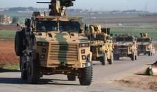 المرصد السوري: قافلة عسكرية للتحالف الدولي مؤلفة من 35 آلية دخلت الأراضي السورية