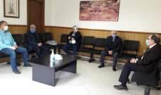 البزري يستقبل الهيئة الإدارية لجمعية جامع البحر ومستشفى دار السلام