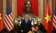 ترامب التقى رئيس فيتنام قبل القمة الثانية مع زعيم كوريا الشمالية