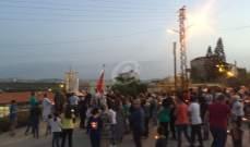 إقفال طرقات في صور احتجاجا على انقطاع الكهرباء