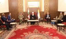 الشيخ حسن العقل التقى قائد اليونيفيل ووكيل داخلية التقدمي