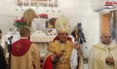 أسقف الإسكندرية للأرمن الكاثوليك: سوريا كانت وستبقى بلد السلام والمحبة