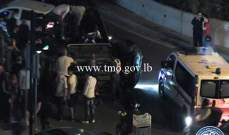 التحكم المروري: إنقلاب مركبة على مستديرة المكلس- سن الفيل
