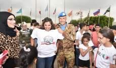 القطاع الغربي لليونيفيل ينظم ورشة عمل لعائلات شهداء الجيش وقوى الأمن بشمع