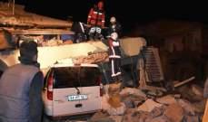 وزير الصحة التركي: ارتفاع عدد المصابين في الزلزال الى 1330 مصابا