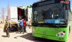سانا: عودة مئات السوريين من مخيم الركبان عبر ممر جليغم إلى مناطقهم المحررة
