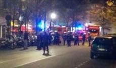 إصابة سبعة أشخاص بجروح خطرة بينهم خمسة أطفال في حريق قرب باريس