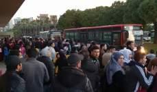 الامن العام يؤمن العودة الطوعية لحوالي ألف نازح سوري الى الاراضي السورية