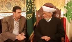البعريني التقى دريان: نتمنى من كل سياسي أن يبعد عن الأمور التي تخلق استفزازات