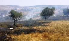 الدفاع المدني: إخماد 4 حرائق أعشاب في زاروت وغزة وميس الجبل وبعلبك