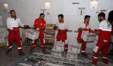 الهلال الأحمر الإيراني وزّع مساعدات إنسانية على منكوبي السيول الأخيرة