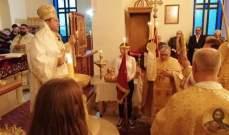 قداس في منيارة لمناسبة عيد القديس يوسف ترأسه المطران ضاهر