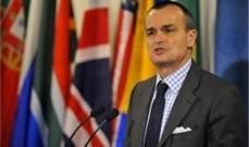 مندوب فرنسا بالأمم المتحدة: الأسد لا يفعل شيئا من أجل التوصل لاتفاق سلام