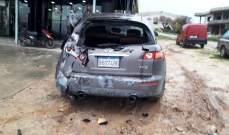 3 جرحى نتيجة حادث سير على أوتوستراد ببنين- برقايل
