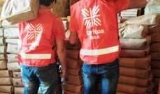 """""""كاريتاس""""- إقليم الجبة وزعت 22 طنا من الطحين على عائلات محتاجة"""