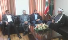 وفد من حزب الله جال على الفعاليات العلمائية بصيدا مهنئا بالمولد النبوي