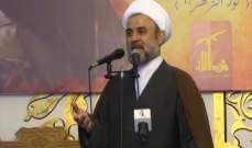 الشيخ قاووق: الرئيس عون أنقذ البلد من مسار المجهول