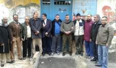 النشرة:اقفال مكتب مدير خدمات مخيم عين الحلوةاحتجاجا على سياسة الاونروا