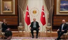 اردوغان التقى مندوبة أميركا الدائمة لدى الأمم المتحدة في أنقرة