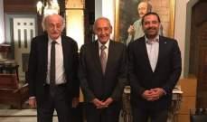 مصدر سياسي للشرق الأوسط: بري يتبع سياسة المساكنة الايجابية مع عون وعلاقته وطيدة بالحريري وجنبلاط