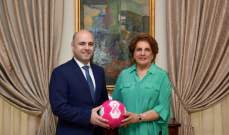 اللبنانية الاولى تضع اللمسات الاخيرة على الحملة الوطنية للتوعية ضد سرطان الثدي