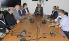 وزير الصحة بحث مع نقابة أصحاب المستشفيات الخاصة سبل تفعيل التعاون