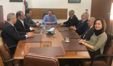 كيدانيان التقى رؤساء النقابات السياحية واتفاق على اطلاق مبادرة لاستقطاب المغترب اللبناني