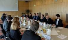 السفارة الالمانية عن مشاورات التعاون الانمائي ببرلين:مستمرن في دعم لبنان