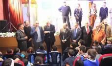 قصيفي لطلاب المدارس: أنتم أمل المستقبل أنتم من نعول عليكم لانقاذ لبنان