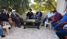 المقداد يطالب بتأمين المياه من عيون أرغش لنبحا والجوار