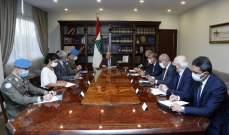 الرئيس عون بحث مع دل كول الوضع في الجنوب بعد التمديد للقوات الدولية