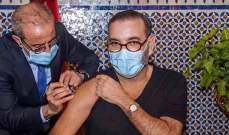 ملك المغرب أطلق الحملة الوطنية للتلقيح ضد كورونا وتلقى الجرعة الأولى من اللقاح