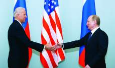 بايدن بحث مع بوتين هاتفيا فرص التعاون في مكافحة جائحة كورونا