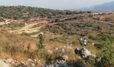 الجيش الاسرائيلي نصب خيمة بالقرب من السياج التقني في الكروم الشراقي
