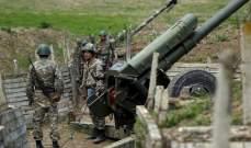 اصابة قائد جيش دفاع قره باغ خلال تواجده في أحد المواقع العسكرية