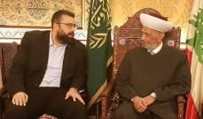 أحمد الحريري: الخطاب الوطني  يجب ان يكون سيد الموقف في المرحلة المقبلة
