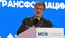 وزير الدفاع الايراني: إجراء المناورات سيتم وفق البرنامج المعد سلفاً
